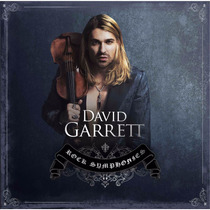 David Garrett / Rock Symphonies / Disco Cd 15 Canciones