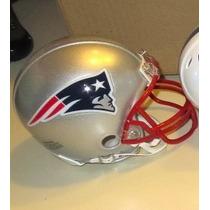 Mini Casco Nfl New England Patriots Y Nombre Jugador Nfl
