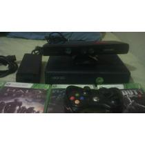 X Box 360 Con Kinect Y 13 Juegos Un Control...
