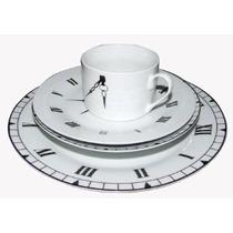 Vajilla De Porcelana De 20 Piezas Para 4 Personas Diseño Rel