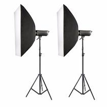 Estudio Fotografico Kit De Iluminacion Sofbox 800w Neewer