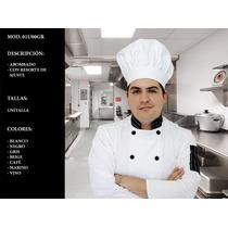 Gorro Para Chef Restaurantes Y Cocina Uniformes
