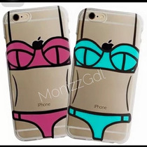 Funda Bikini Transparente Iphone 4 4s 5 5s 6/6s 6 Plus