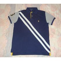 Excelente Camisa Polo Uspa 100% Original