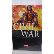 Civil War Variante Marvel Deluxe Pasta Dura