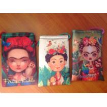 Funda De Celular De Frida Kahlo Tipo Bolsa Para Mujer