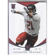 2013 Momentum Base Thick Rookie Desmond Trufant Cb Falcons