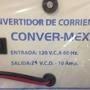 Eliminador 24v-10a Convermex