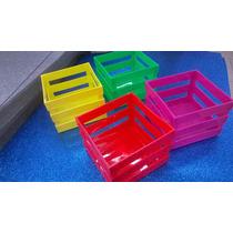 Canastas Porta-objetos (4 Pzs) Multicolor
