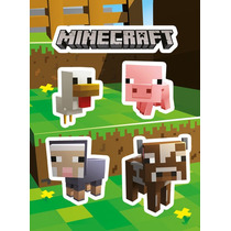 Minecraft Sticker - Animales (vinilo) Pegatinas Oficial