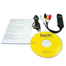 Tarjeta Grabadora Usb Easycap Rca Video Tv Dvd Vhs