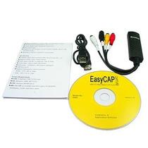 Tarjeta Grabadora Usb Easycap Rca Video Tv Dvd Vhs