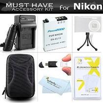 Must Have Accesorios Kit Para Nikon Coolpix S9900, S9500, S8