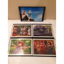 Cuadros Decorativos Tinkerbell, Neverbeast Originales Disney