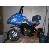 Montable Moto Eléctrico Para Niños
