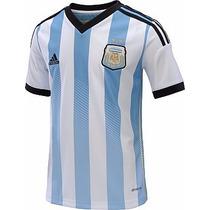 Jersey Argentina Adidas Mundial14 Local Albiceleste Original