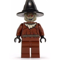 Lego Espantapajaros C/arma 7785 Glow In Dark Legobricksrfun