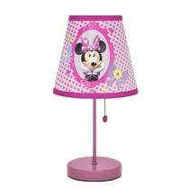 Disney Minnie Mouse Bow-tique Lámpara De Mesa
