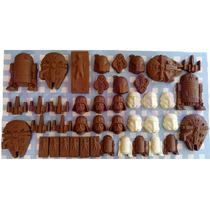 Chocolates Star Wars, Mesa De Dulces, Recuerdos Fiesta