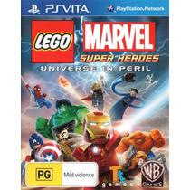 Lego Marvel | Ps Vita | Nuevo Y Sellado