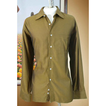 Exclusiva Camisa Neiman Marcus Talla L 43 Color Dorado