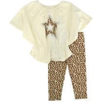 Conjunto Blusa Pantalón Para Niña Talla 5 Envio Gratis