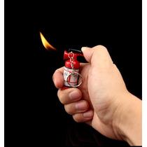 Encendedor Gas Butano Forma De Extintor Recargable B4u