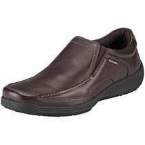 Zapatos Casuales Hush Puppies Hb-3602 Cafe Piel Pv