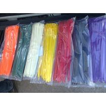 Cinchos De Nylon Precio Por Ciento 4.8 X 200 Varios Colores