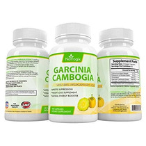 Natrogix 100% Pure Garcinia Cambogia Natural Con Un 80% Hca