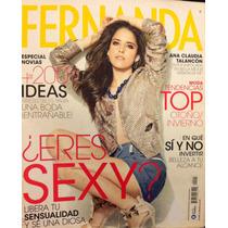 Ana Claudia Talancon Revista Fernanda