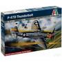 Avion Italeri P47 D Thunderbolt 1/48 Armar Y Pintar / Revell
