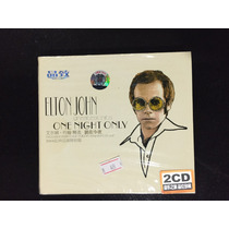 Elton John - Greatest Hits One Night Only 2 Cd Import China