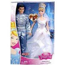 Disney Princess Cinderella Cenicienta Y Muñeca Con Encanto P