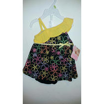 Hermoso Vestido Baby Essentials Talla 3 Meses