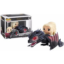 Pop! Rides: Game Of Thrones - Drogon & Daenerys