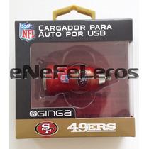 Cargador Para Auto Usb Nfl San Francisco 49ers