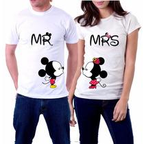 Playeras Para Novios Amigos Casados Mickey Manitas Y Mas