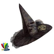 Sombrero Para Disfraz Bruja Brujita Halloween