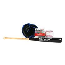 Remate Set Baseball Juvenil Guante Pelota Bat Beisbol E4f