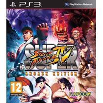 Ps3 - Street Fighter Iv Arcade (acepto Mercado Pago Y Oxxo)