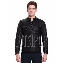 Chamarra Armani Exchange 100% Original Moto Faux Leather!