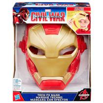 Capitan America/civil War Mascara Con Efectos.