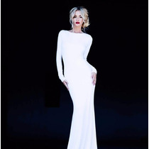 Vestido Largo De Fiesta Sensual Elegante Envío Gratis 2594