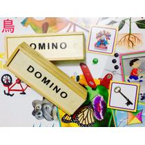 Domino Madera, Juegos De Mesa, Entretenimiento Sano.