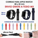 Correa Extensible Iwatch Apple, 38 Y 42 Mm Envío Gratis