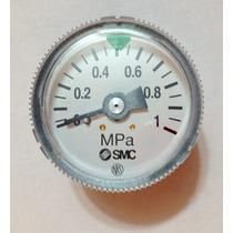 Manómetro Aire Comprimido Smc 0 A 1 Mpa Medidor Presión