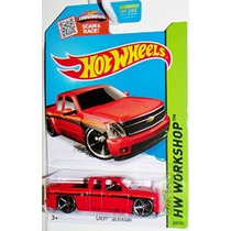 Hot Wheels Hw Taller De Red Chevy Silverado # 249/250 Showdo