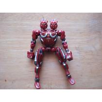 Figura De Transformers Doble Cabeza Mide 13 Cms