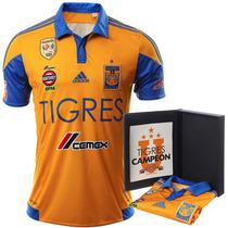 Playera Jersey Conmemorativa Tigres Campeon 15 Adidas Bh3184